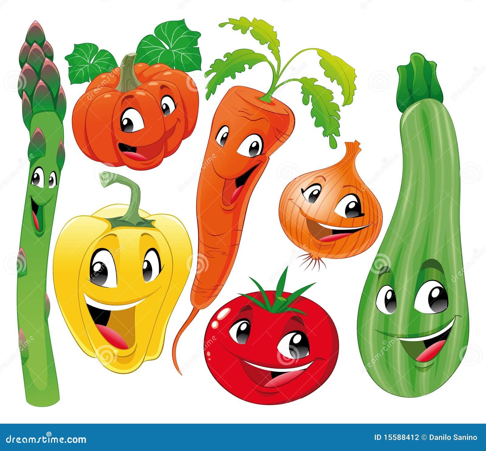 Famiglia di verdure.