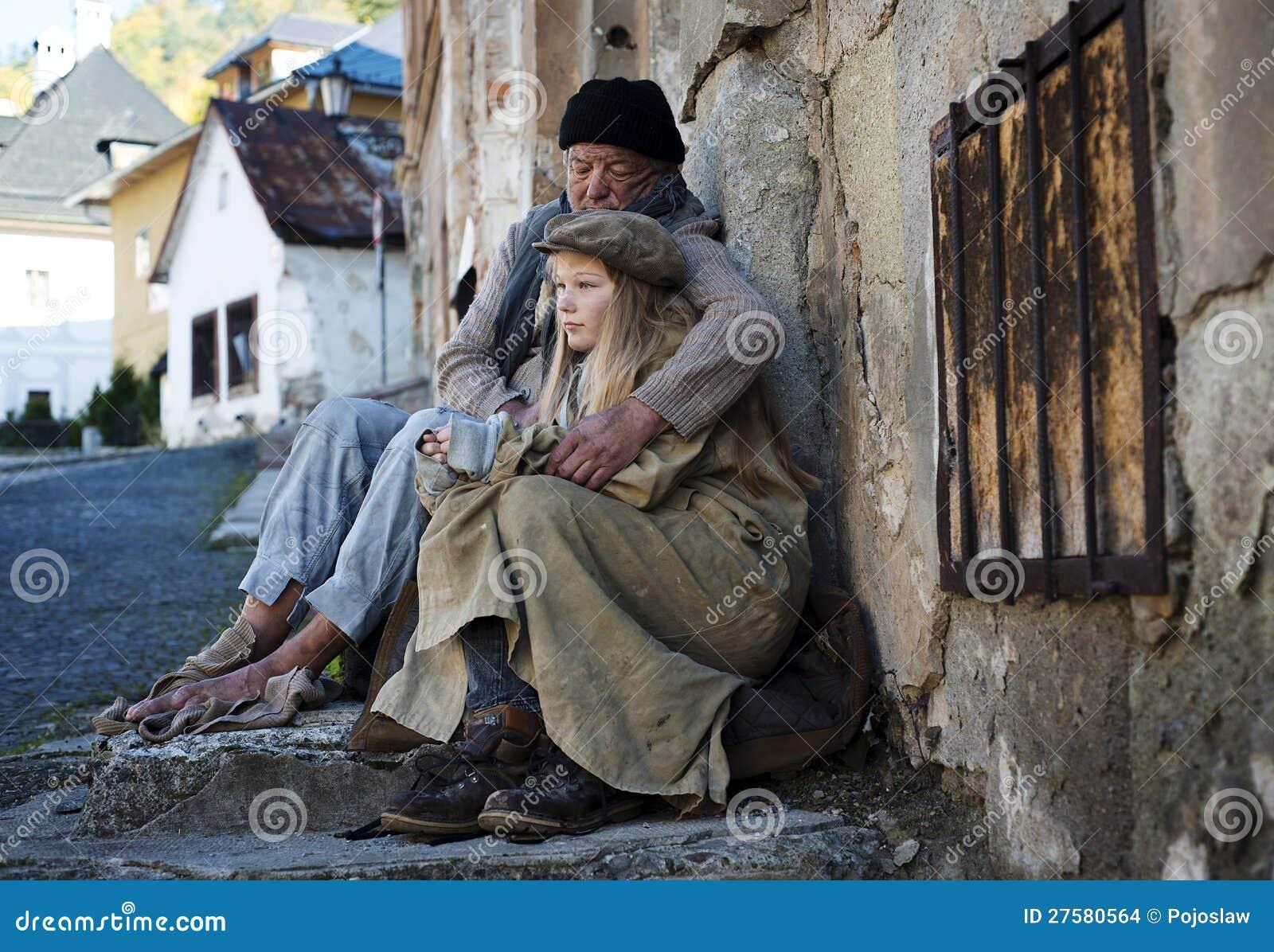 Famiglia senza casa