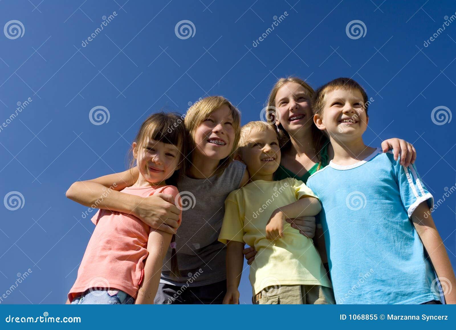 Famiglia sul cielo