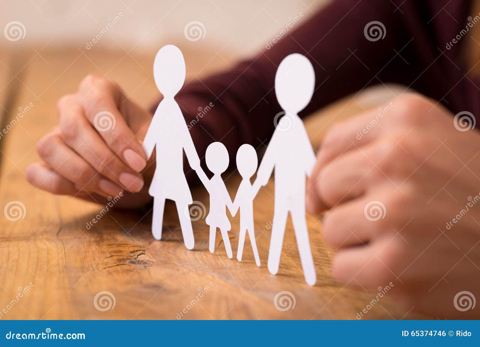 Famiglia Unita Fotografia Stock Immagine Di Padre Madre 65374746