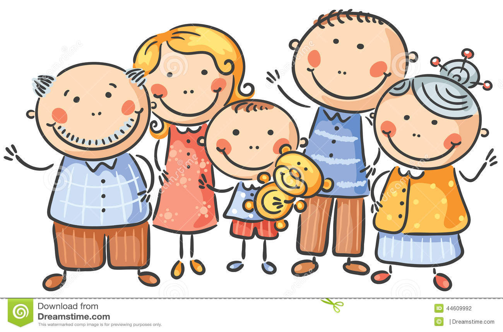 Familia de cinco