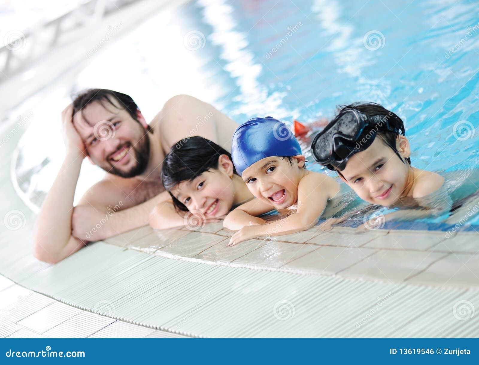 Familia de la natación