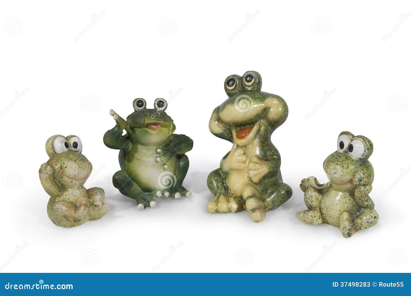 Familia de la rana imagen de archivo Imagen de rana