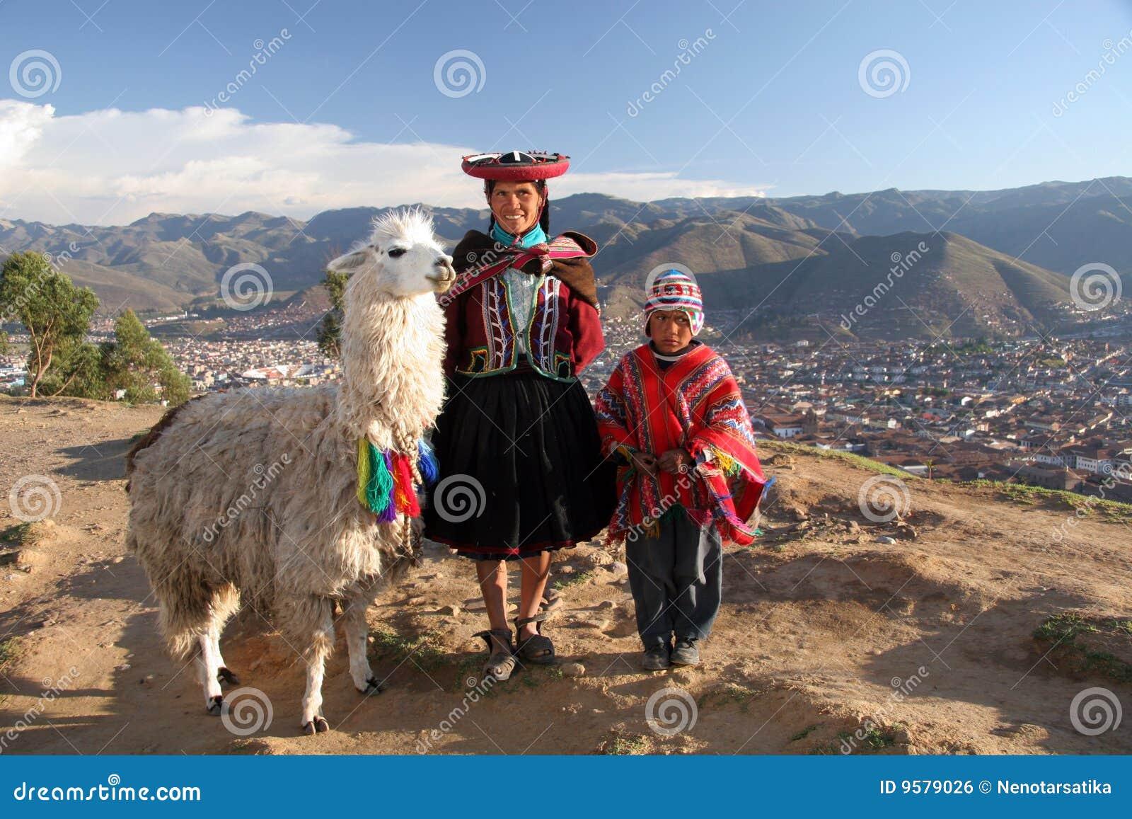 Familia de los incas