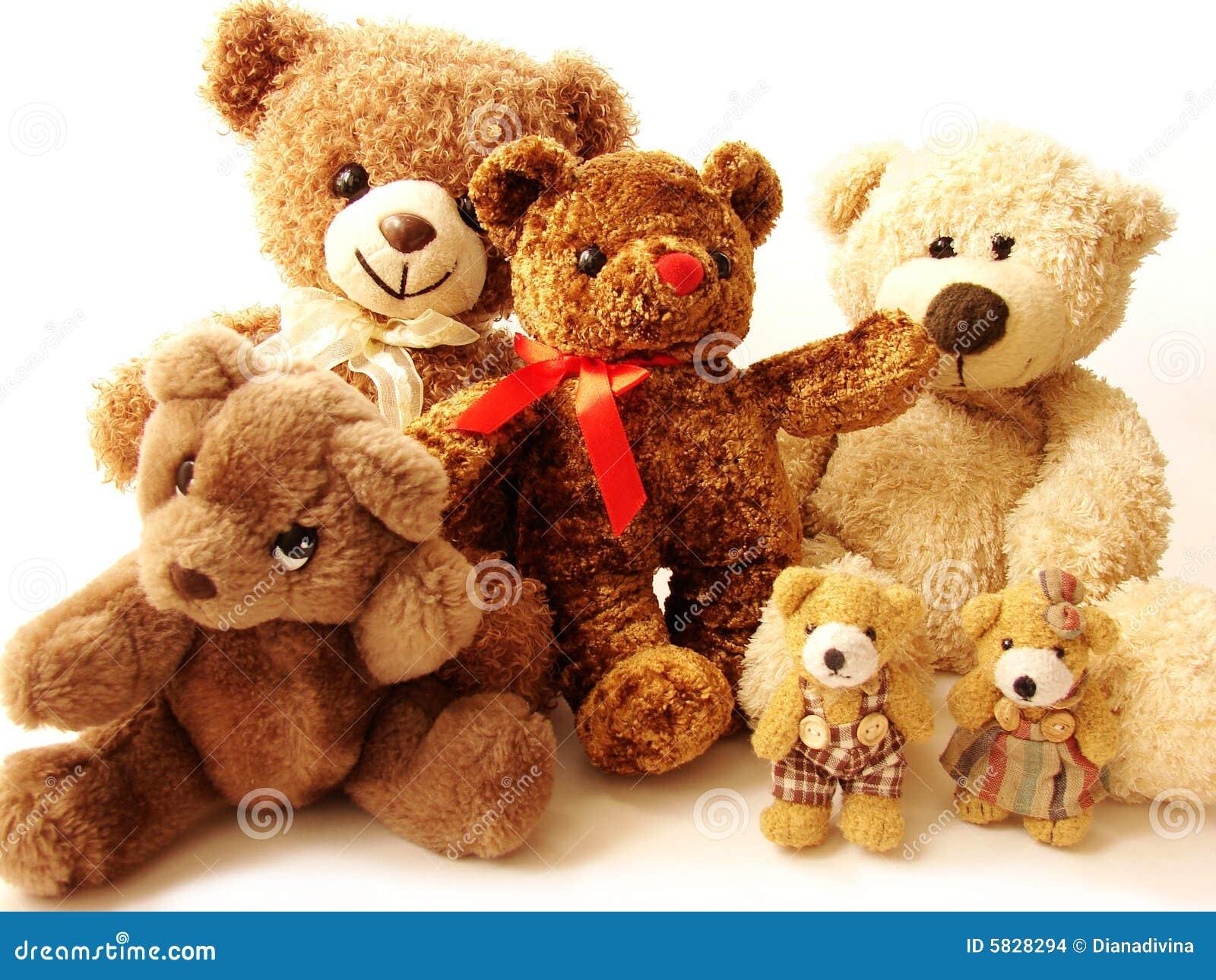 21721d57ec Familia de osos de peluche stock de ilustración. Ilustración de ...