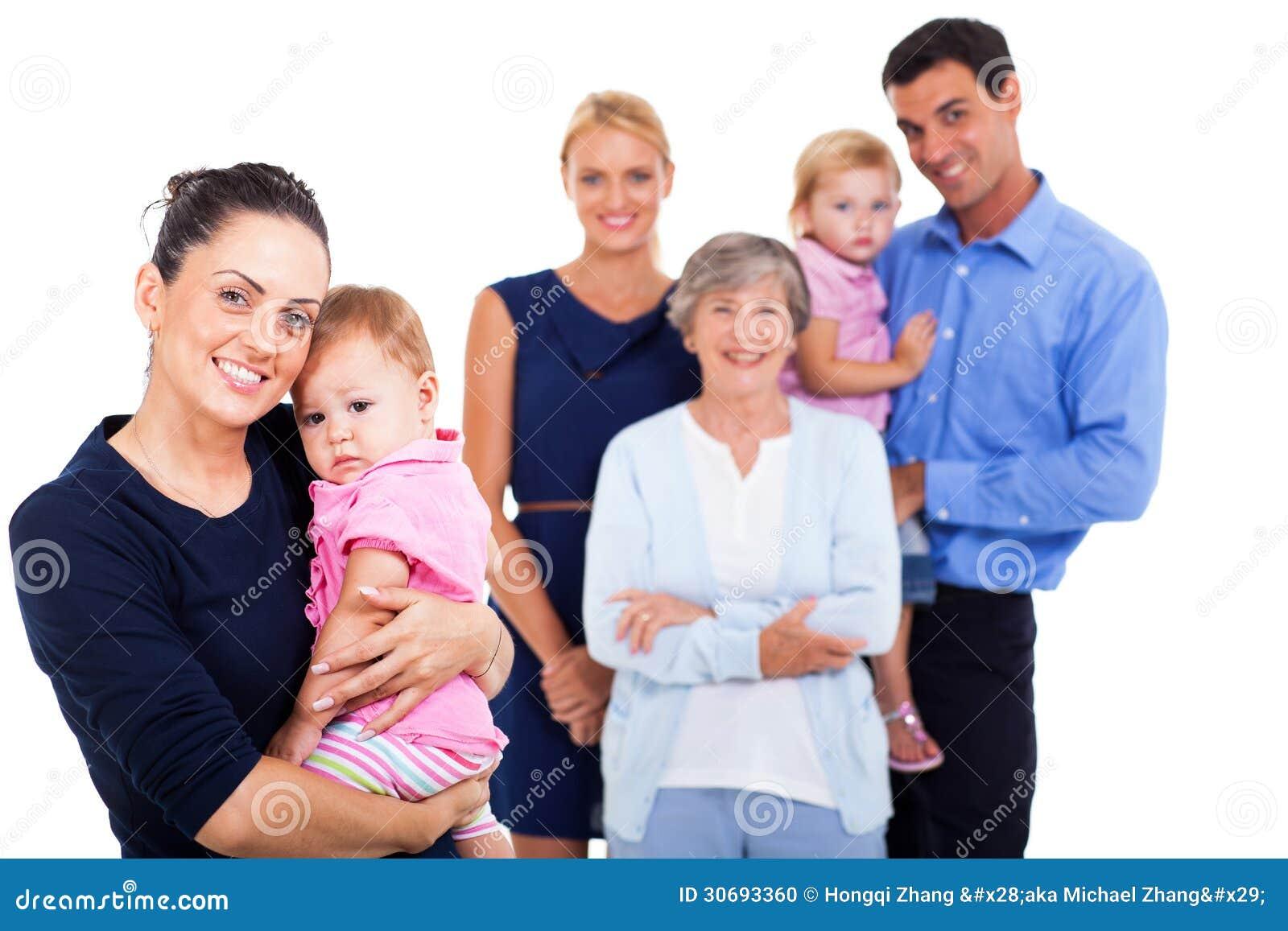 Familia Extensa Foto De Archivo Imagen 30693360