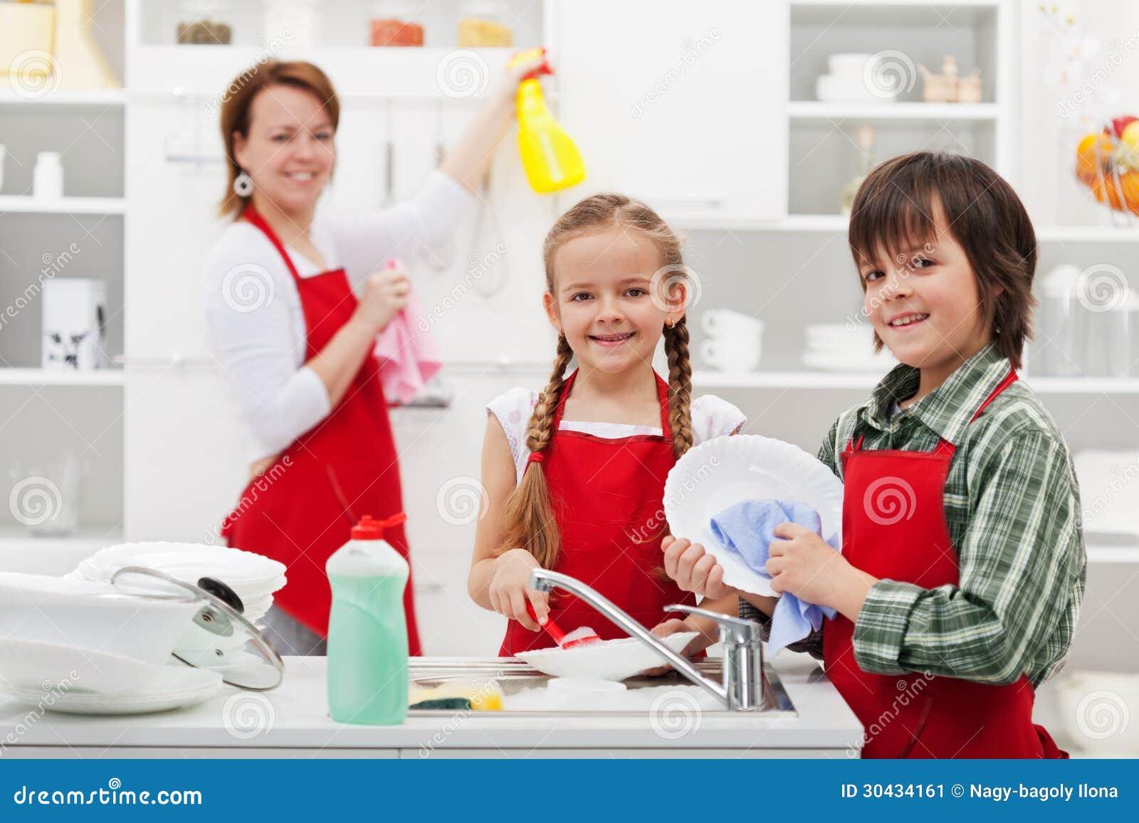 El Spring cleaning en la cocina