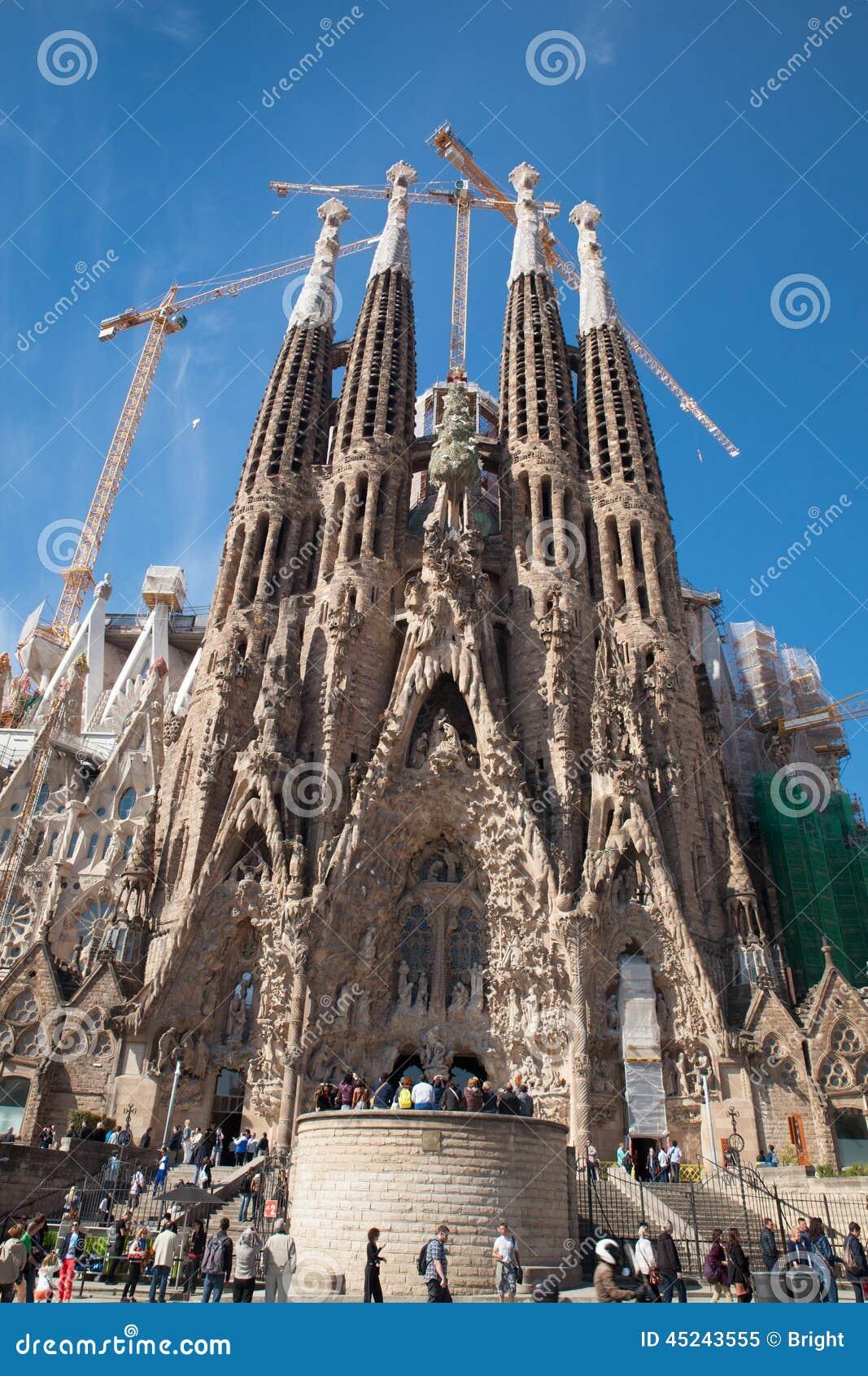 Familia sagrada Испания barcelona