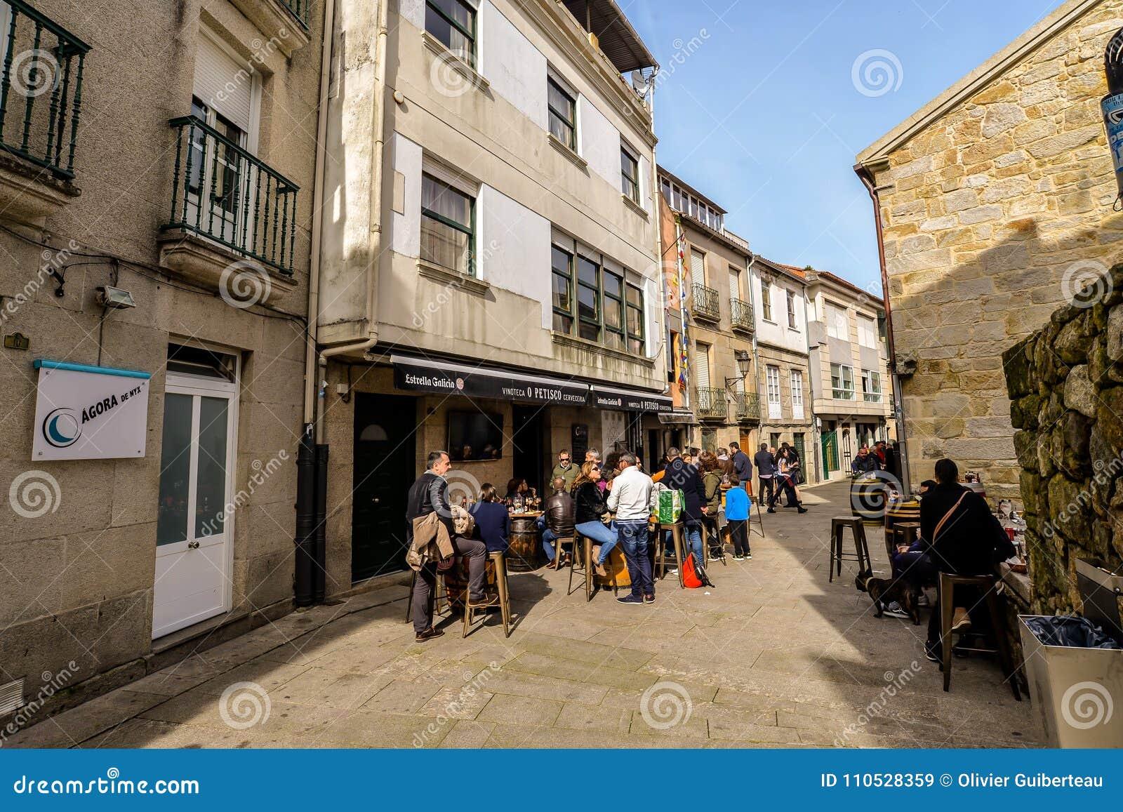 Familias en Baiona - Galicia - España