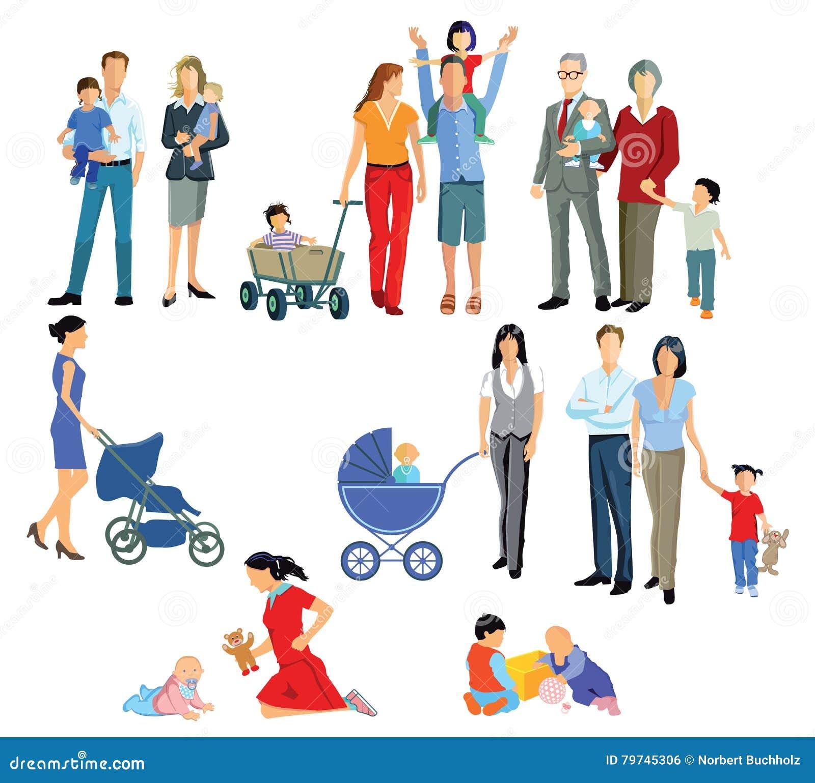 Familias ilustradas