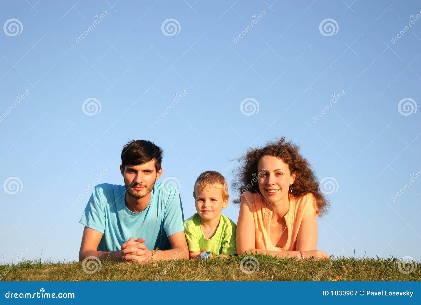 Familie op kruid