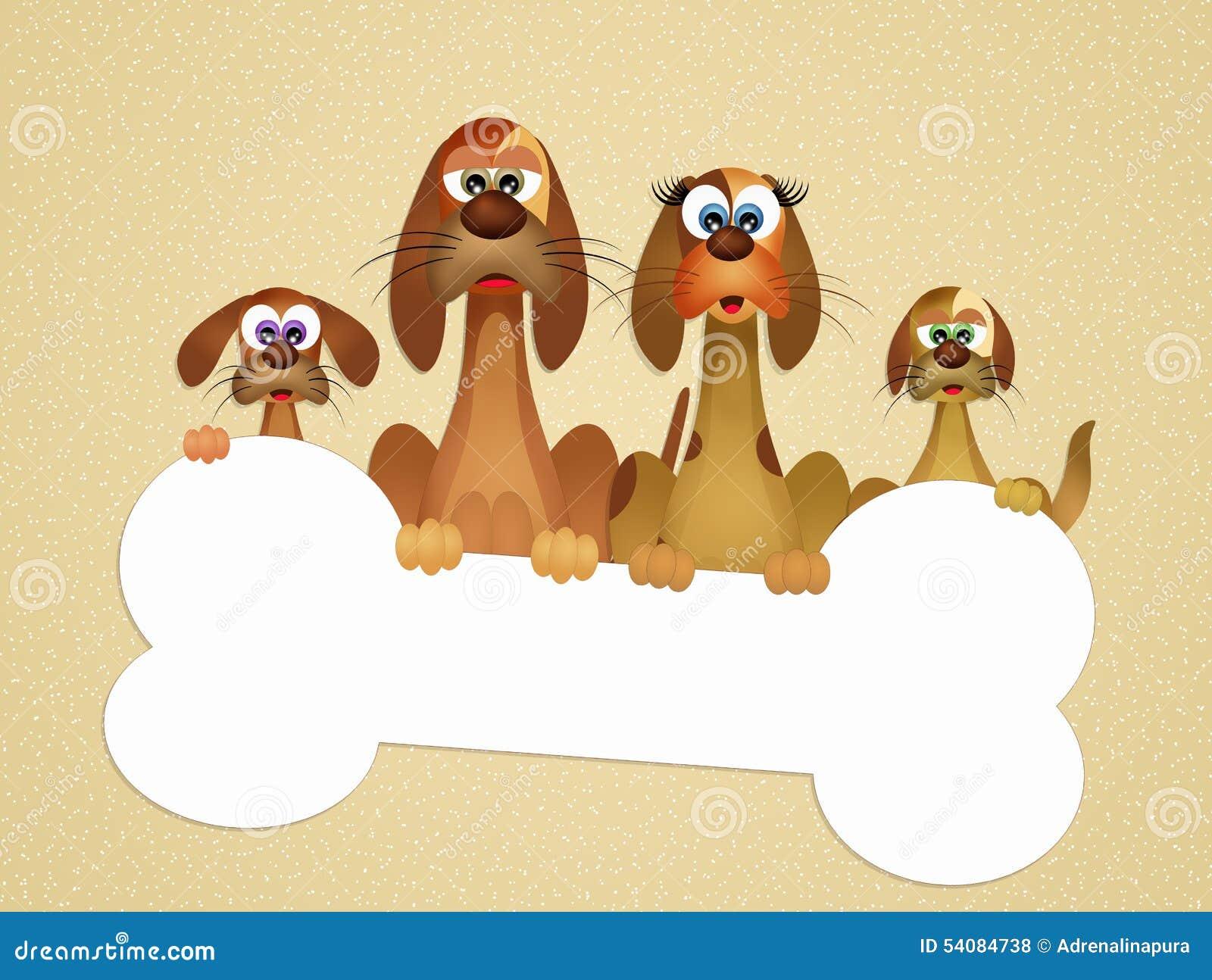 Familie van honden