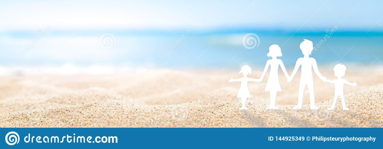 Familiedag bij het strand