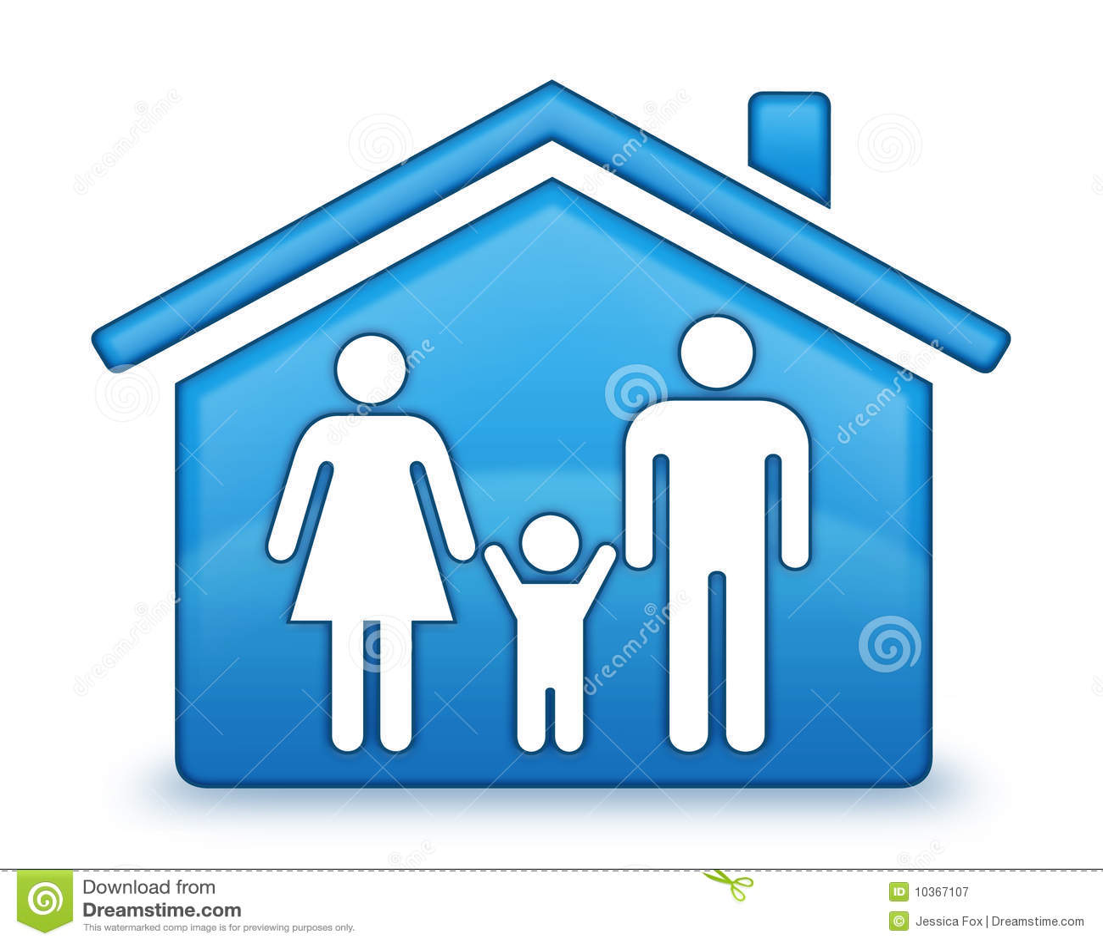 Familien-Haus-Ikone