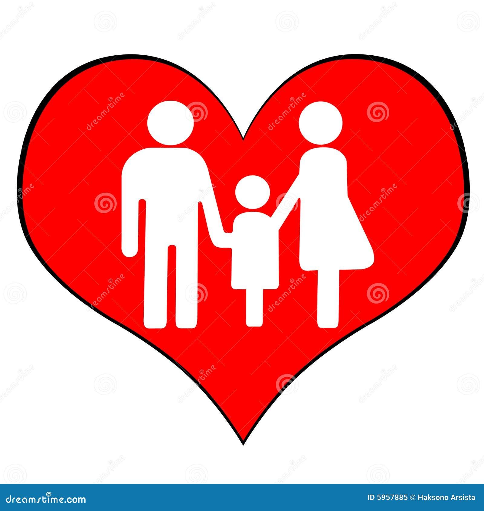 Ein symbol der muttergesellschaft und des kindes zusammen