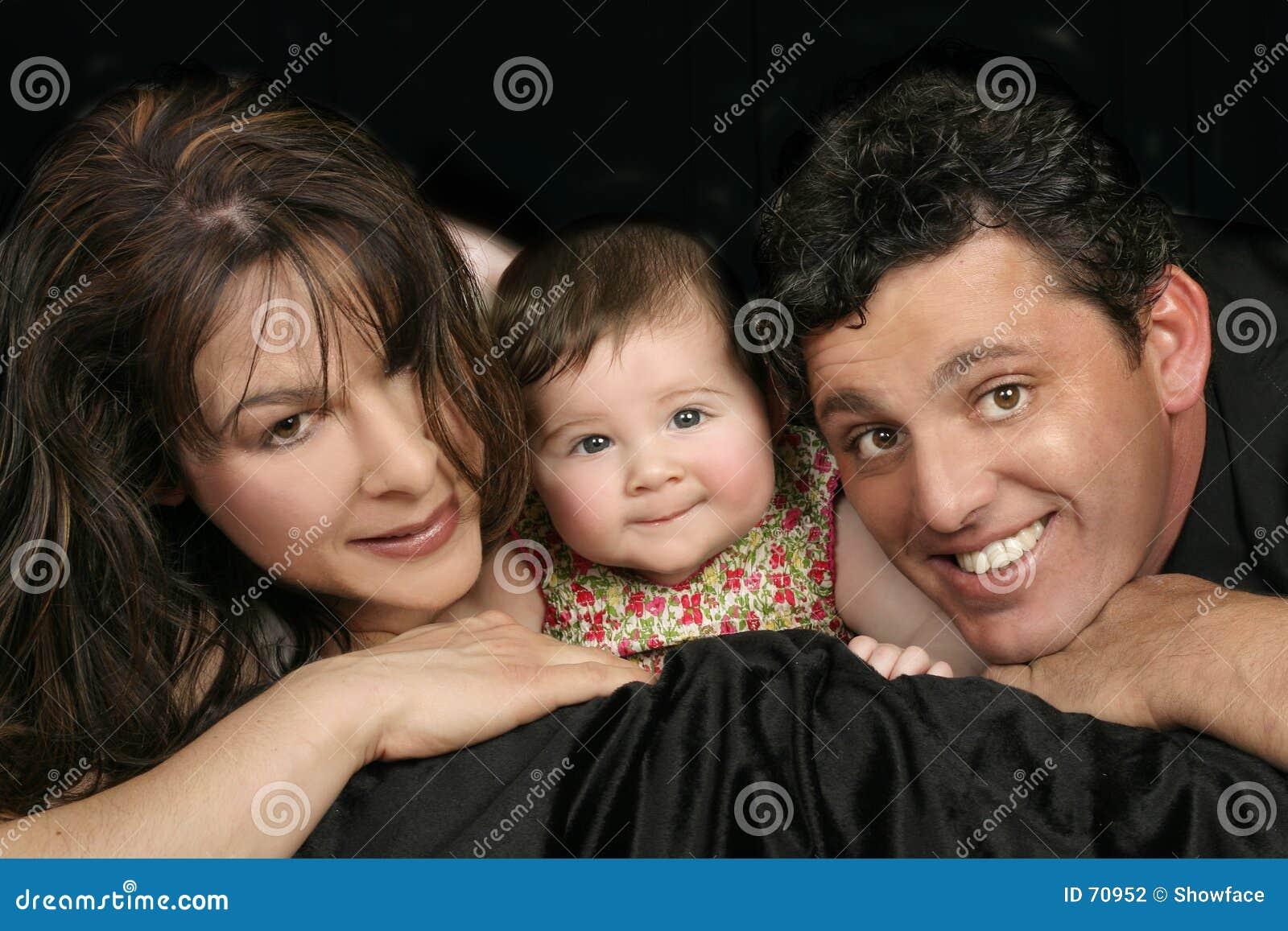 Familien-Trio