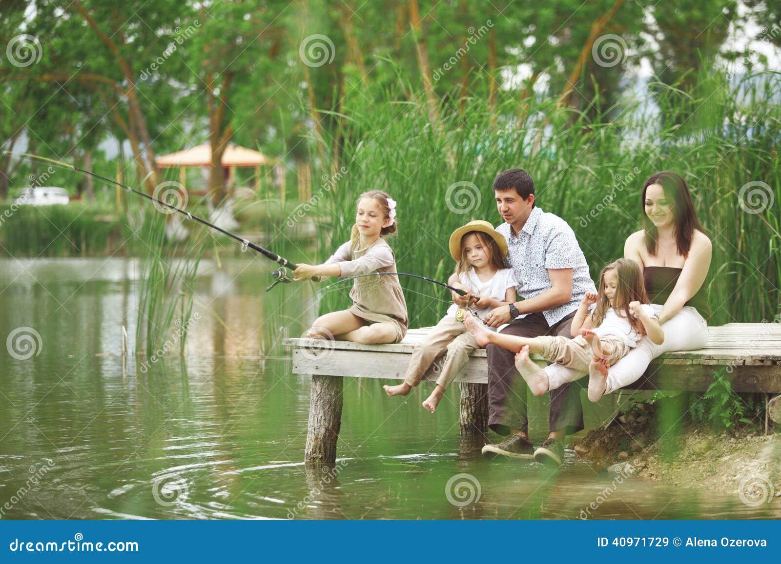 Familienfischen
