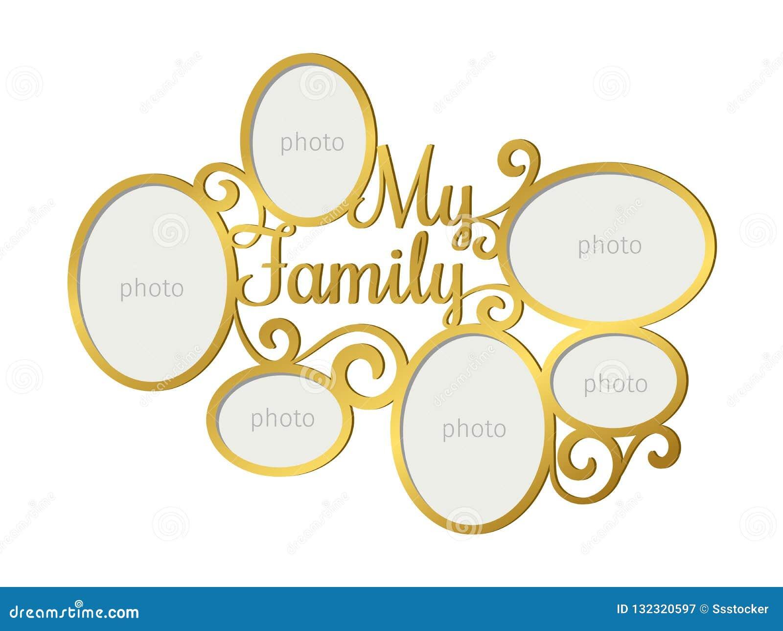 Familienfotorahmen