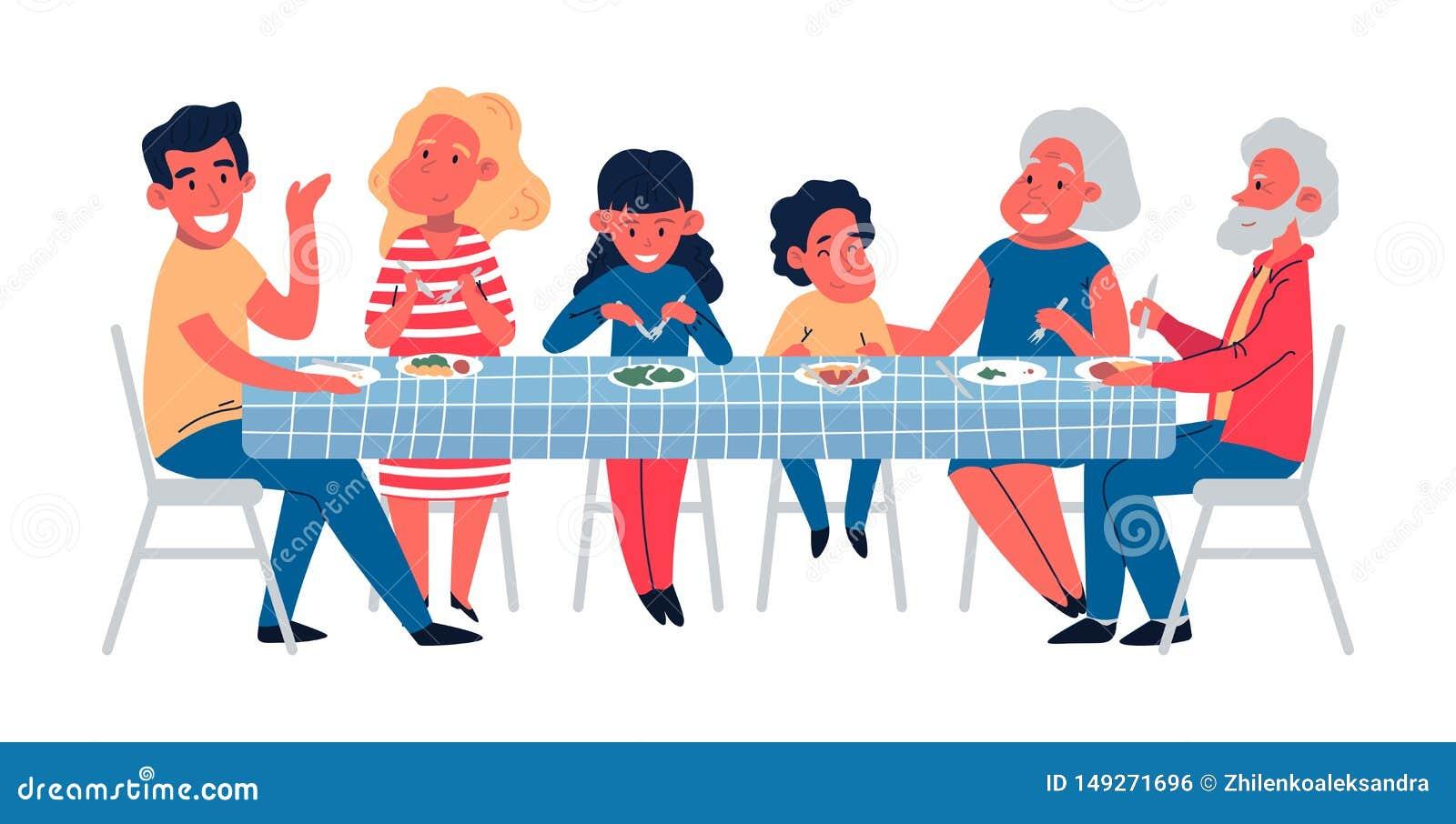 Tisch dem Papa-Tochter unter unter dem