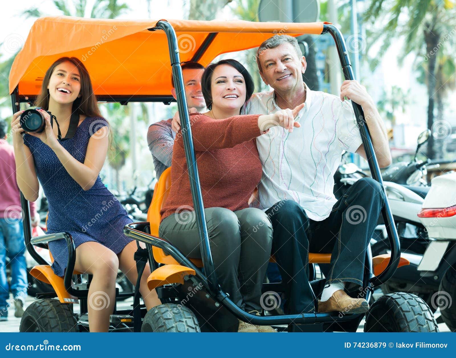 Families die grote reis drijven