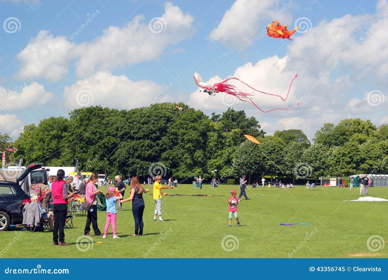 Families die vliegers vliegen