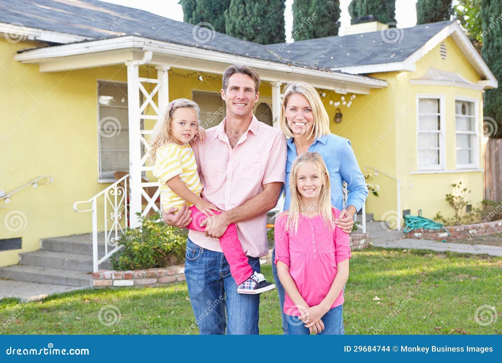 Familjanseende utanför förorts- hem