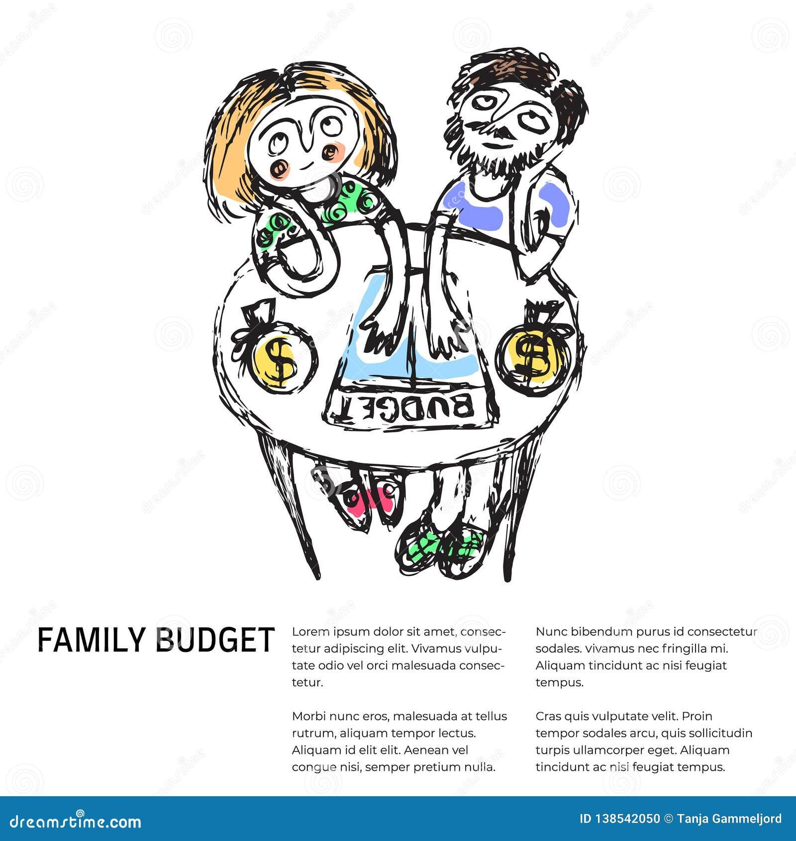 Familjbudget liknande 2