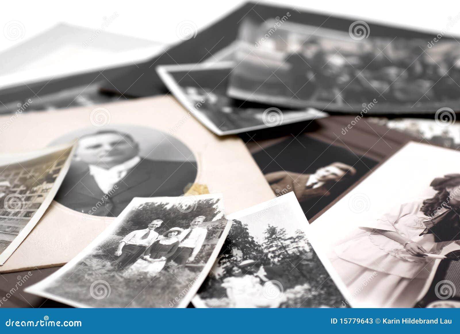 Familjfotografier