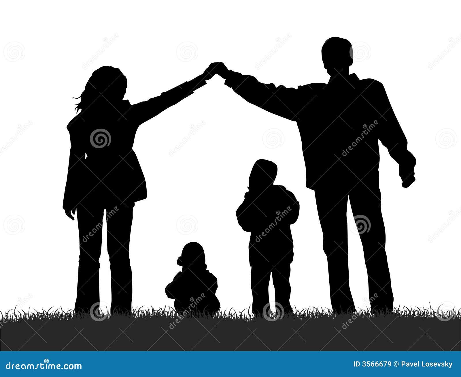 Familjsilhouette