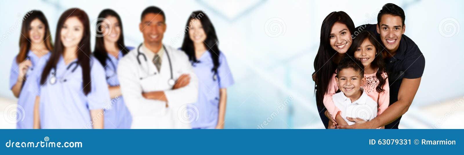 Download Famille à l'hôpital image stock. Image du soin, santé - 63079331