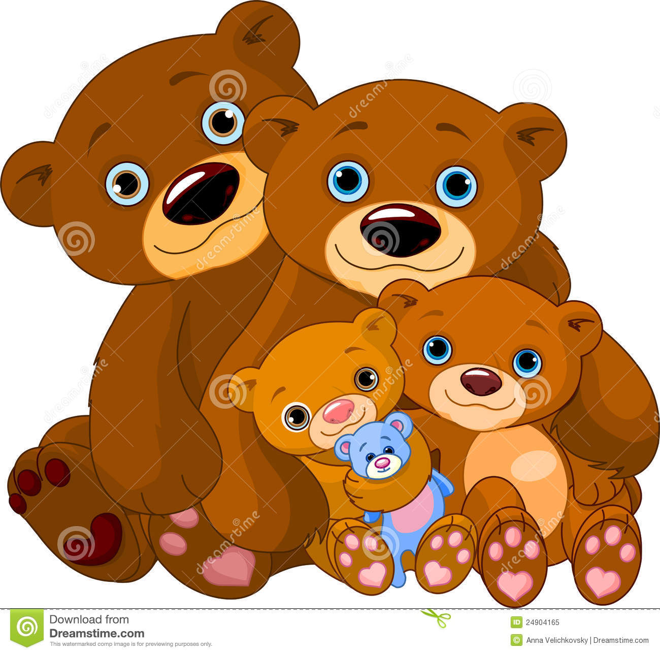 Famille d ours