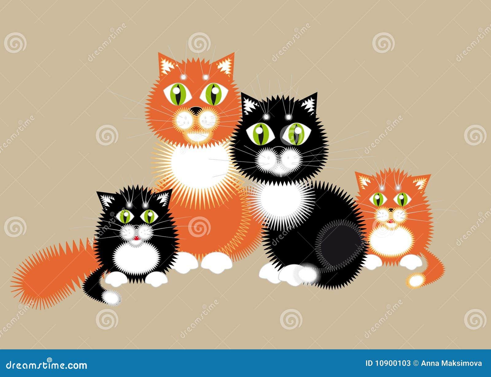 Famille de chat