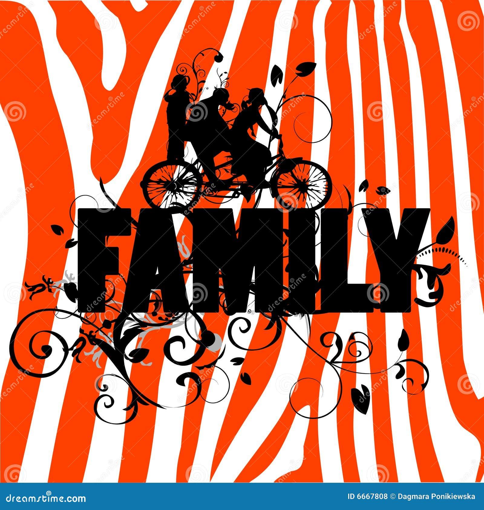 Famille de fond moderne