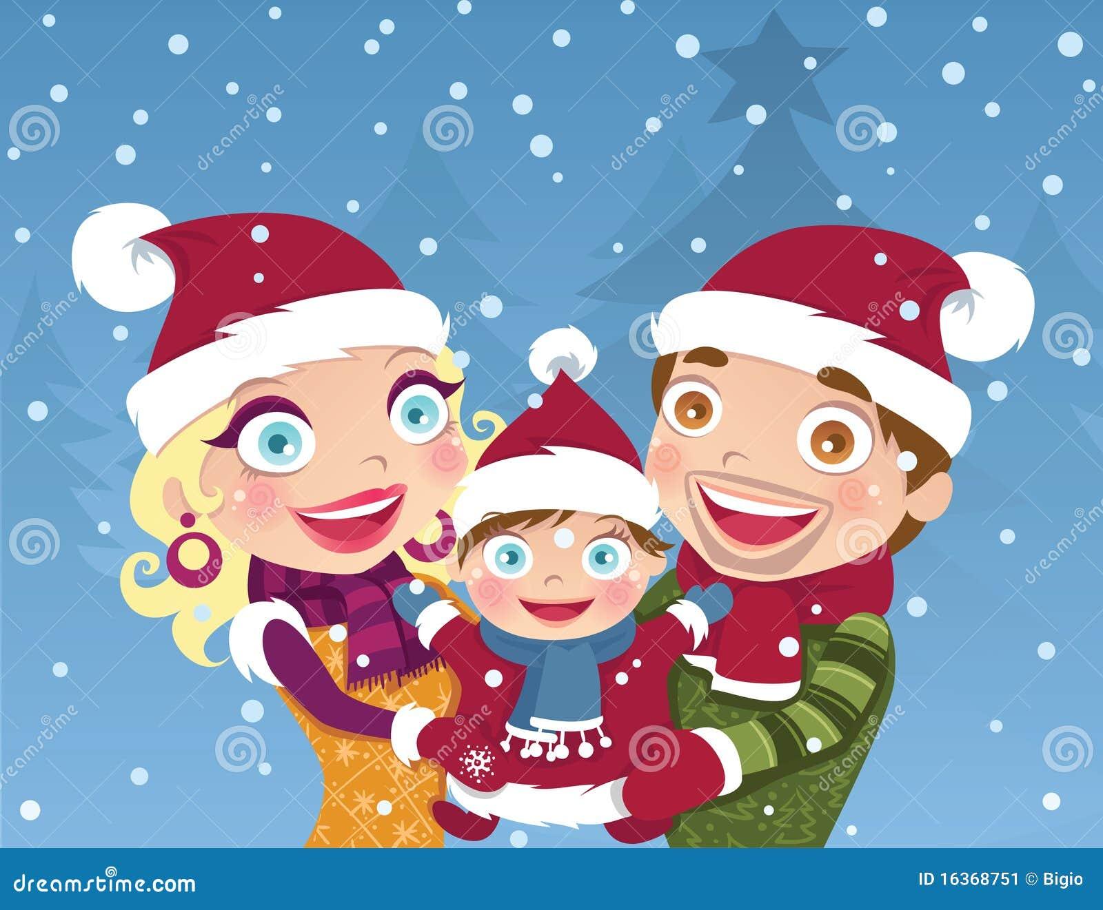 Famille de Noël