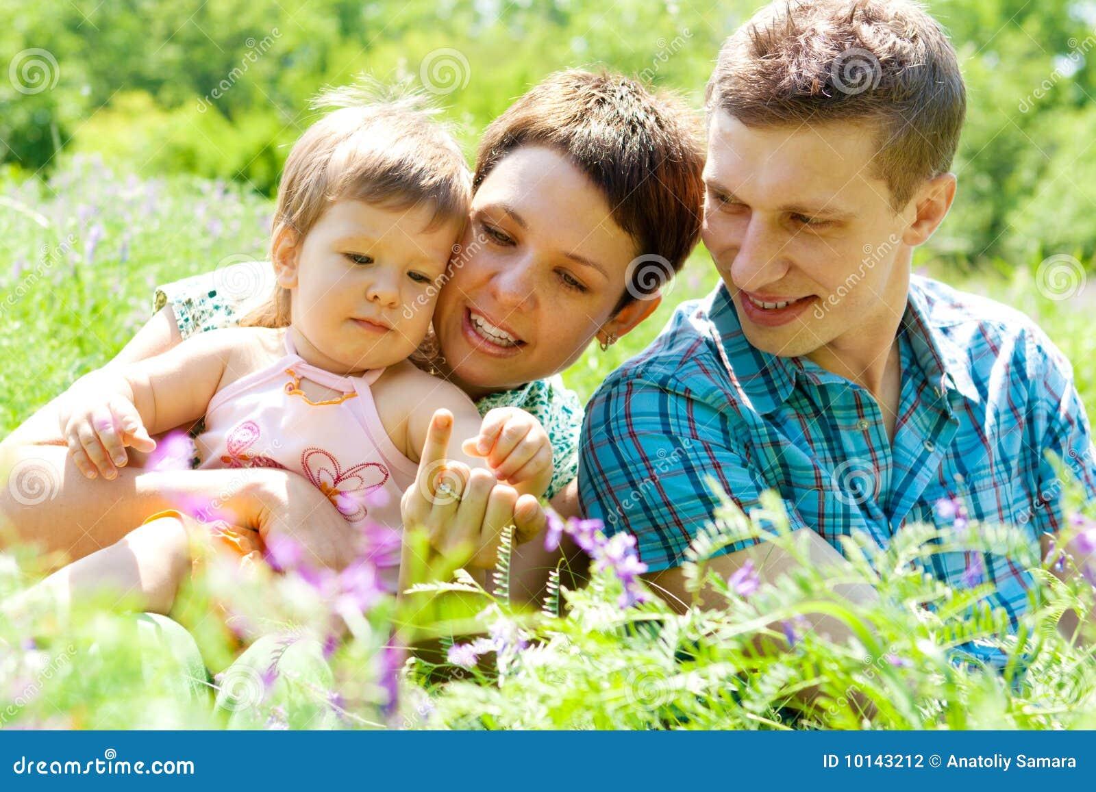 Famille gaie
