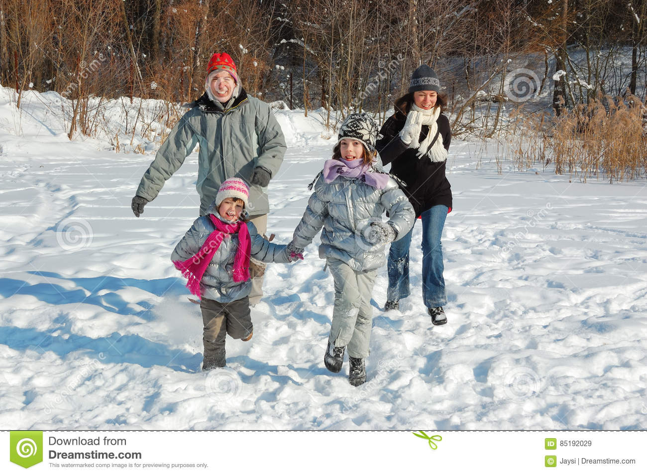 week end famille hiver