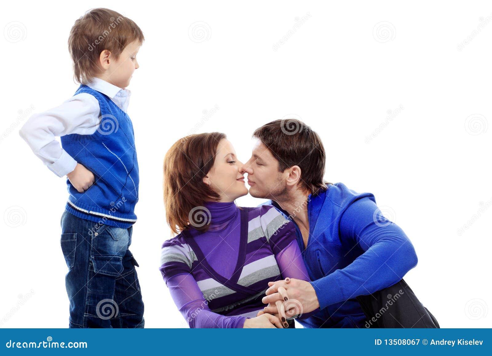 Famille heureux