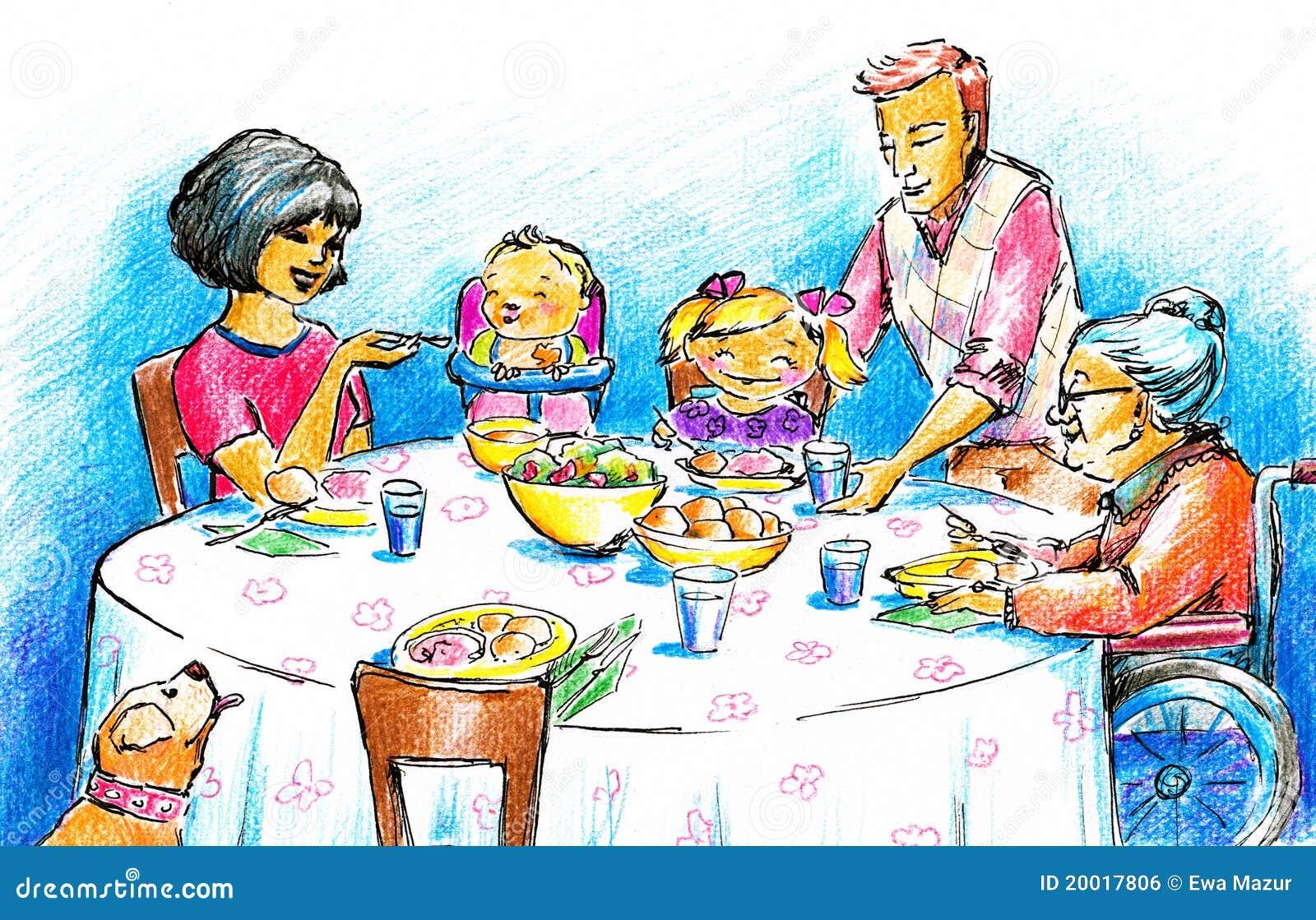 Рисунки к семейным традициям