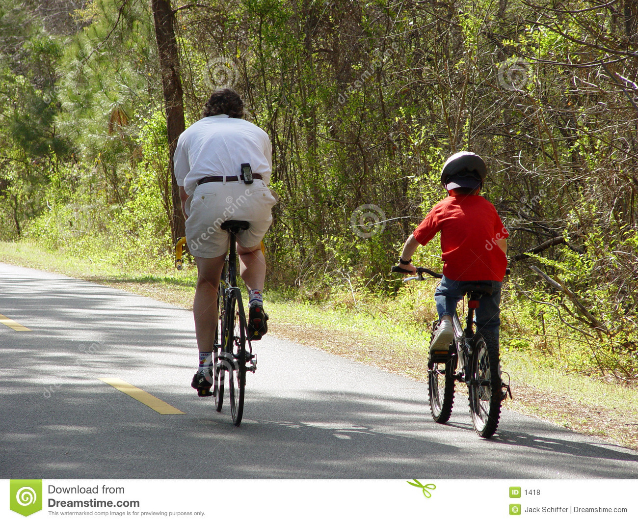 Family Bicycle Riding