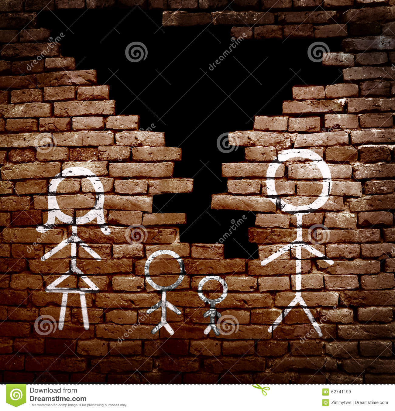 Family Broken Apart Stock Image Image Of Kids Argue