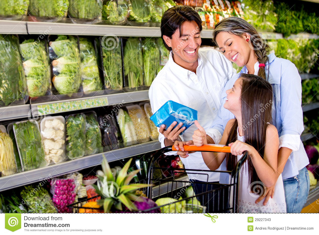 Buying food for the family essay