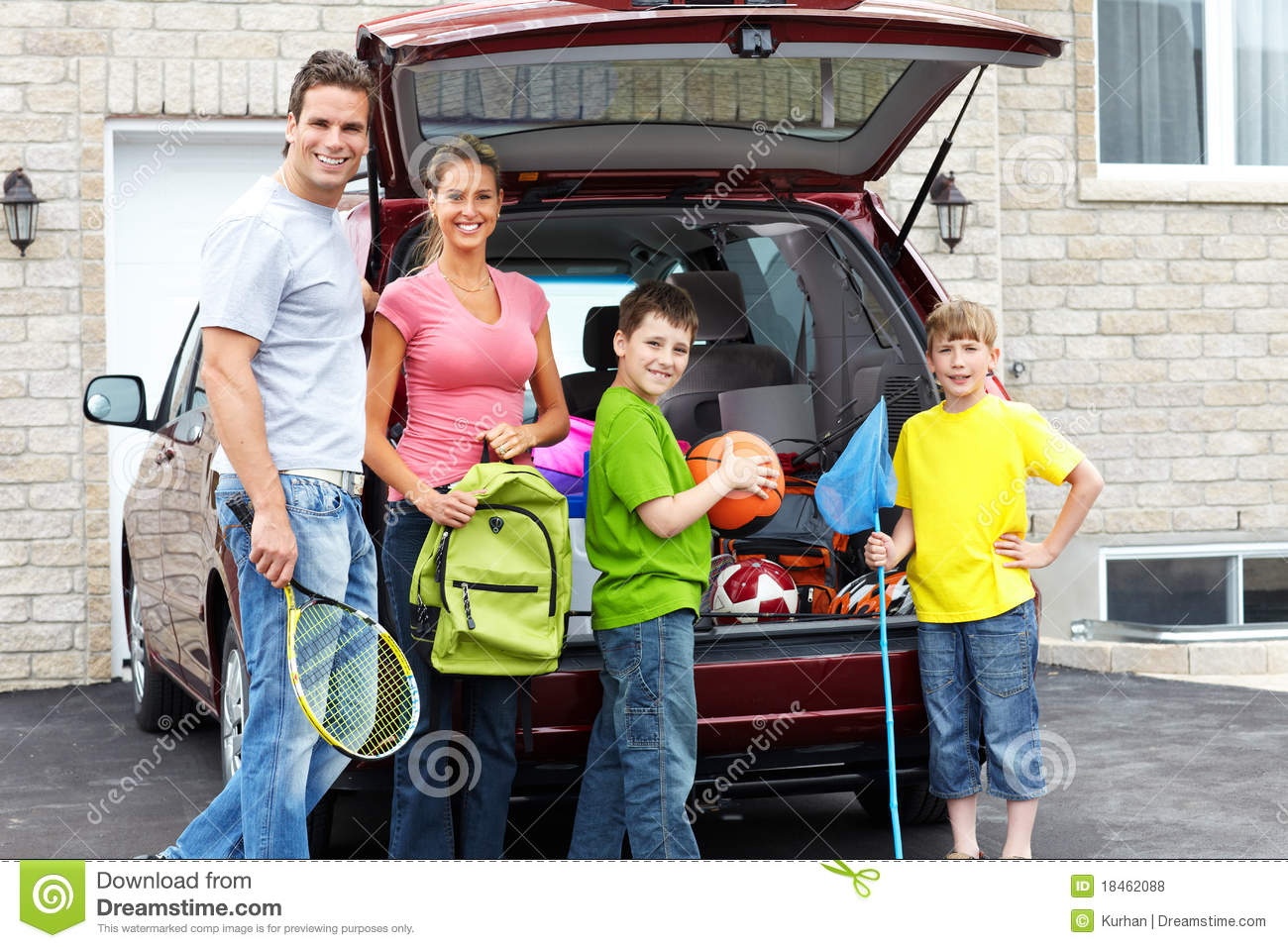 Family car stock photo image of person parents motor for Family motors used cars