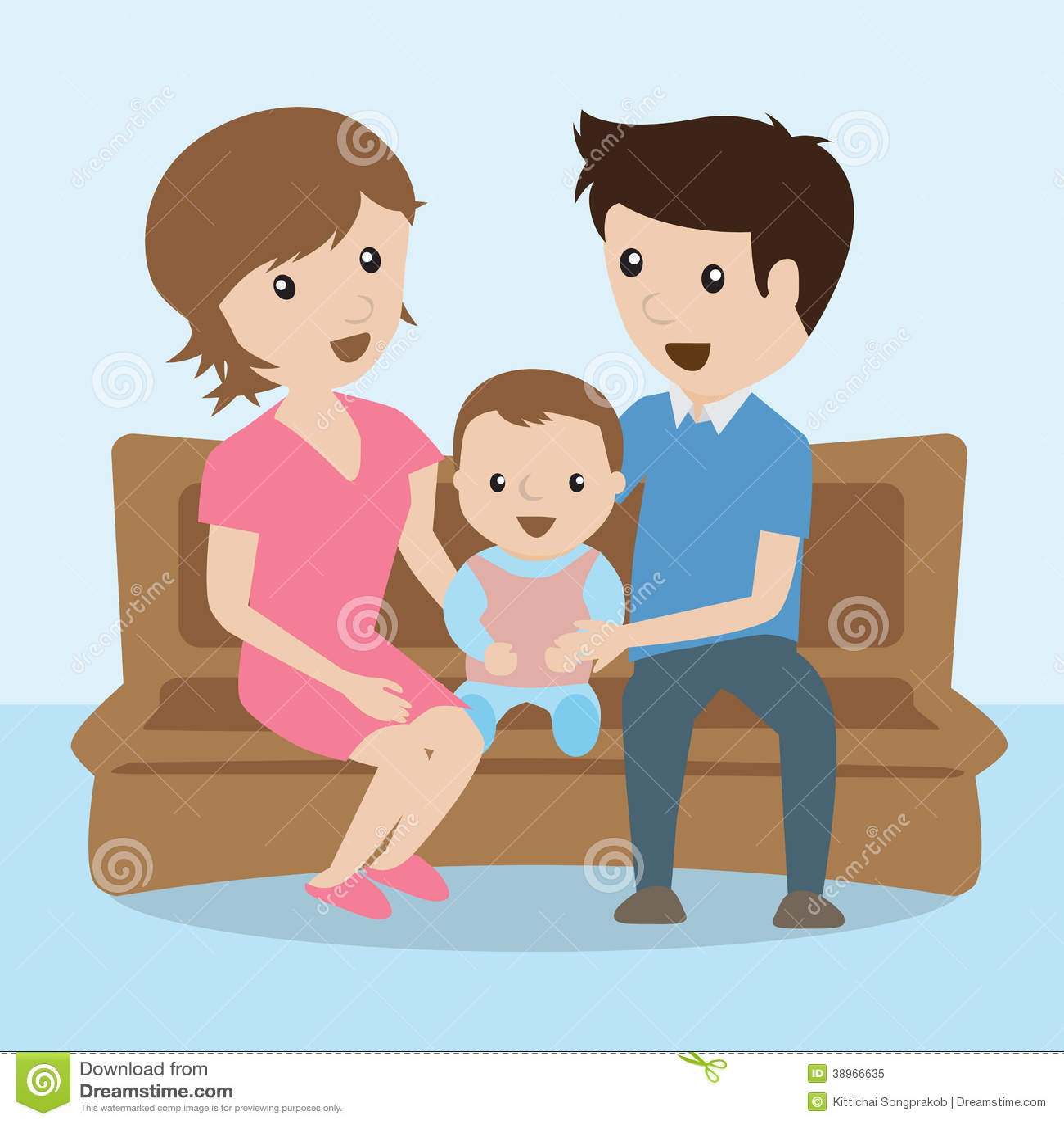 Family. Cartoon Stock Vector - Image: 38966635 Relaxing Dog Music Audio