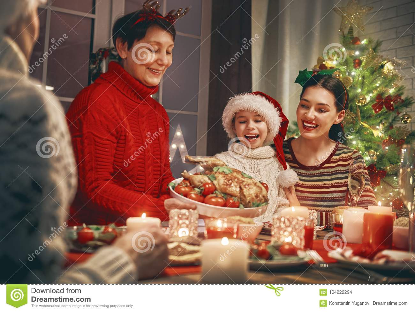 family celebrates christmas - Who Celebrates Christmas