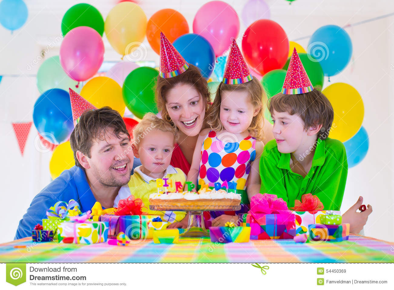 Watch Combined Family Birthday Parties video