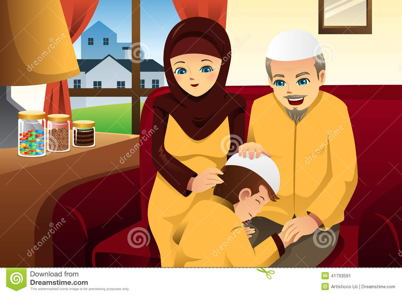 Download Happy Eid Al-Fitr Feast - family-celebrating-eid-al-fitr-vector-illustration-happy-41793591  Perfect Image Reference_709623 .jpg