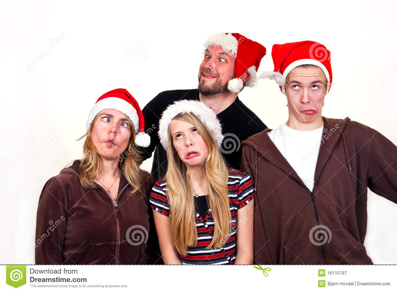 Family Christmas Photos Family Christmas Royalty Free Stock Photography Image 16115797