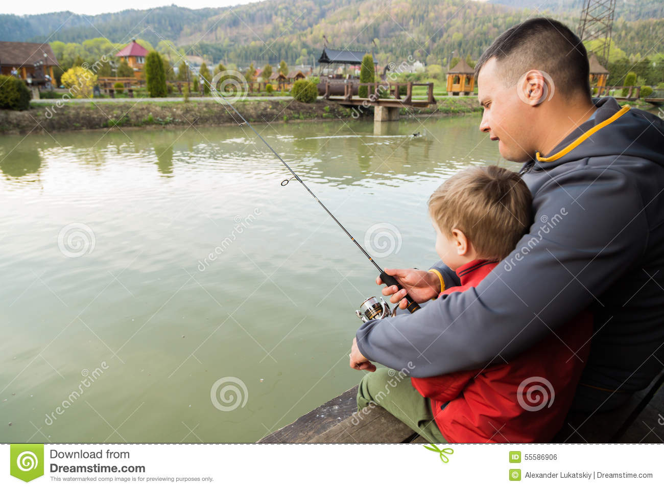 301 moved permanently for Father son fishing