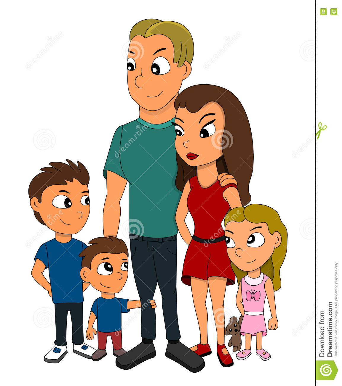 Cartoon Family Members Images