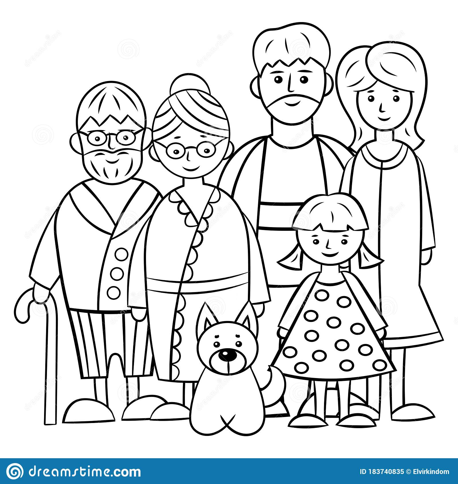 Family Man Coloring Stock Illustrations 859 Family Man Coloring Stock Illustrations Vectors Clipart Dreamstime